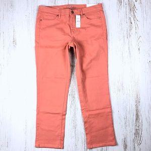 New Ann Taylor LOFT Modern Crop Jeans 10 Outlet